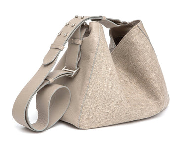 GENIFER Linen Mini Crossbody - Canvas & Hyde NYC