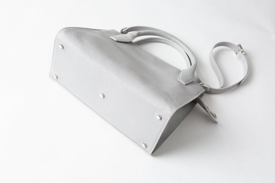 Sydney Tote - Light Grey - Canvas & Hyde NYC
