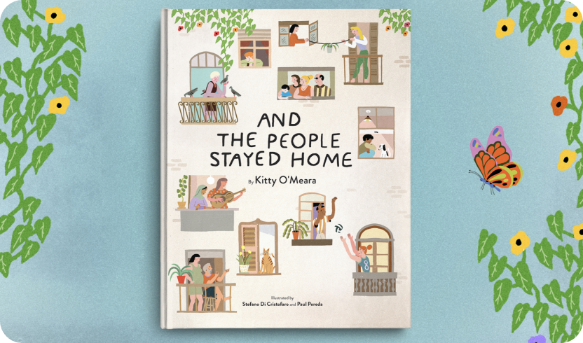 Cover of the book And The People Stayed Home