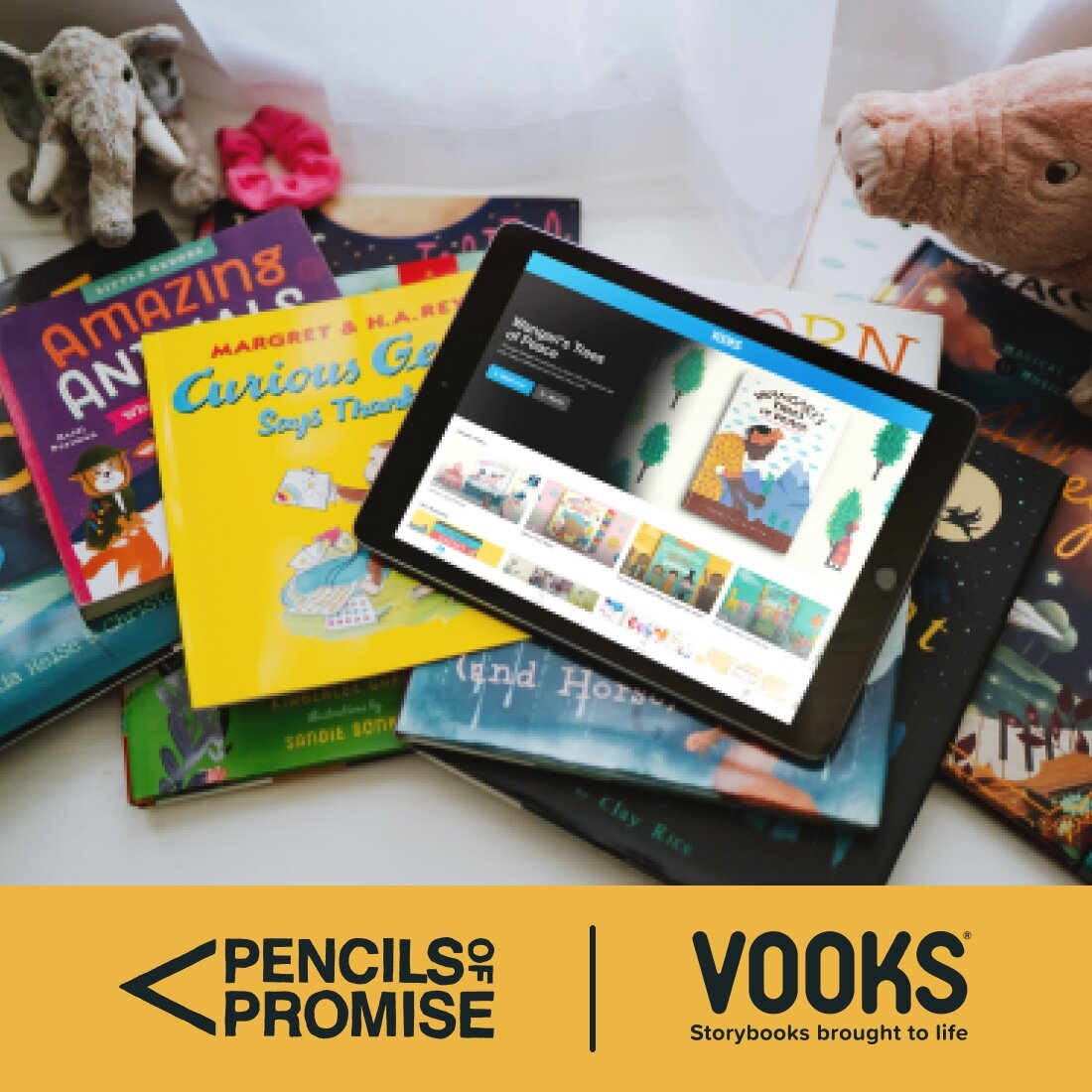 Pencils of Promise, Vooks Storybooks brought to life