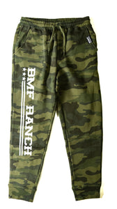 BMF RANCH Green Camo Joggers