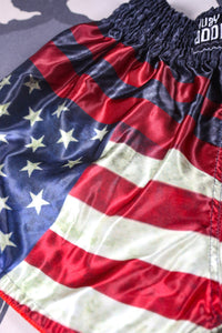 American Flag Muay Thai Signature BMF Shorts