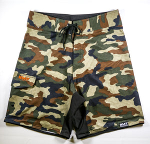 Green Camo BMF All Day Shorts