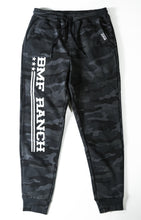 Load image into Gallery viewer, BMF RANCH Black Camo Joggers