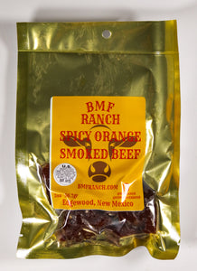 Orange Beef Jerky
