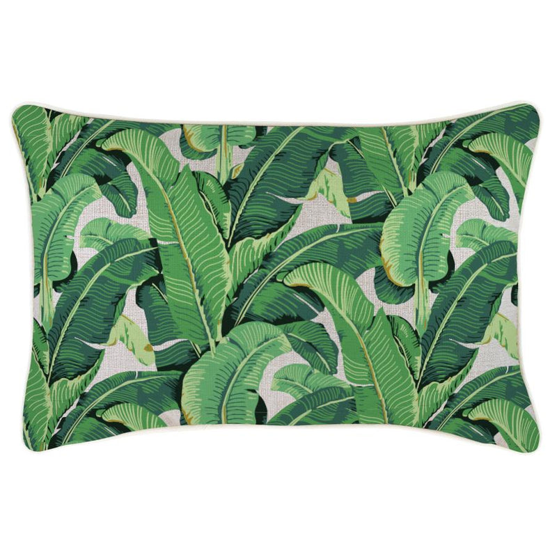 Cushion Cover-With Piping-Banana Leaf Natural-35cm x 50cm