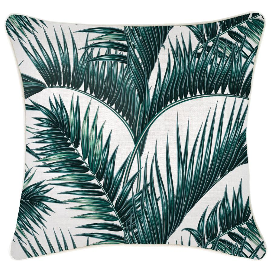 Cushion Cover-With Piping-Palm Fronds-60cm x 60cm