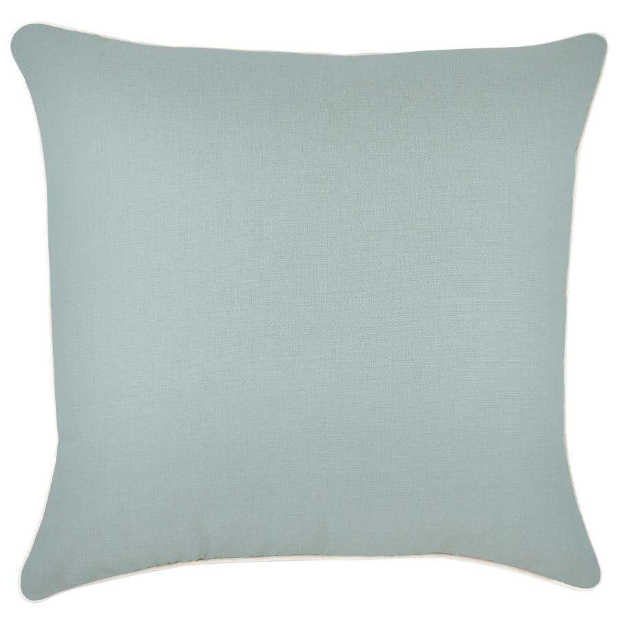 Cushion Cover-With Piping-Seafoam-60cm x 60cm