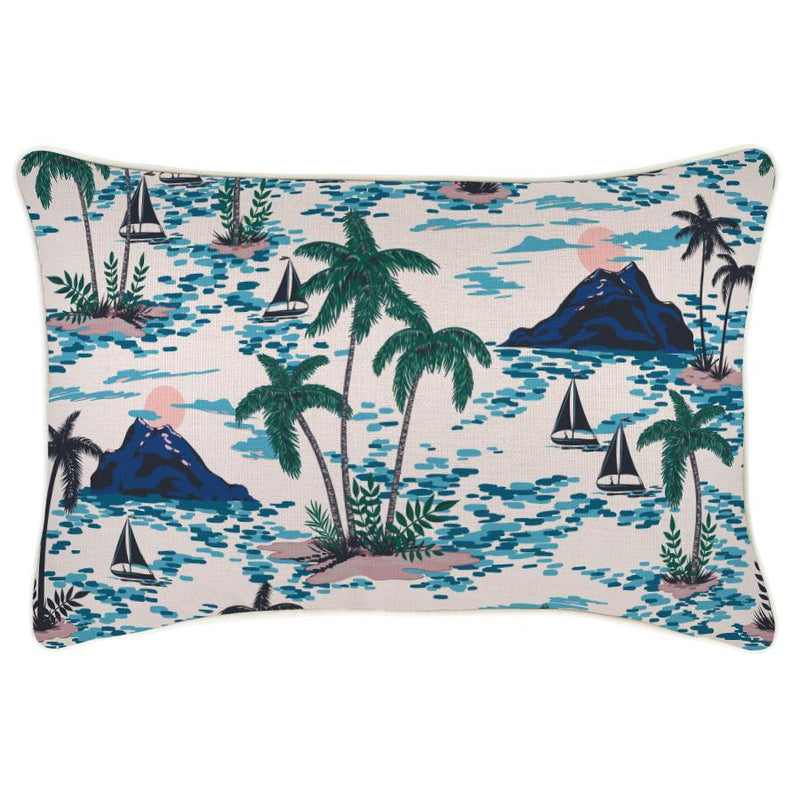 Cushion Cover-With Piping-Vacation-35cm x 50cm