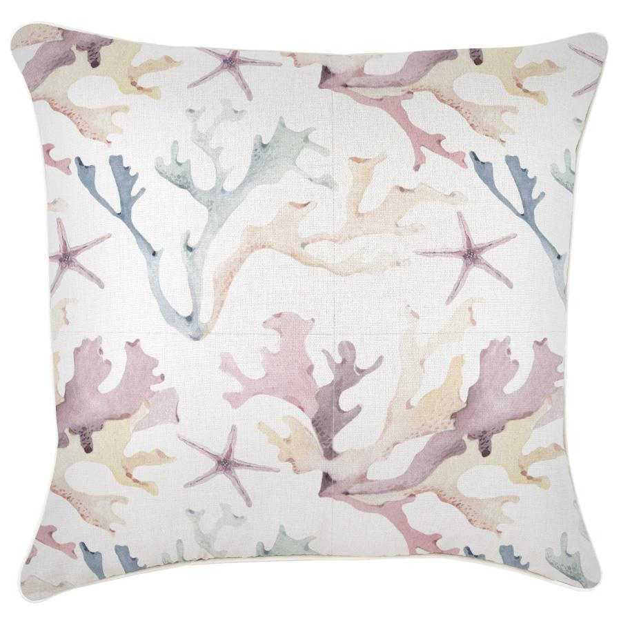 Cushion Cover-With Piping-Coral Coast-60cm x 60cm