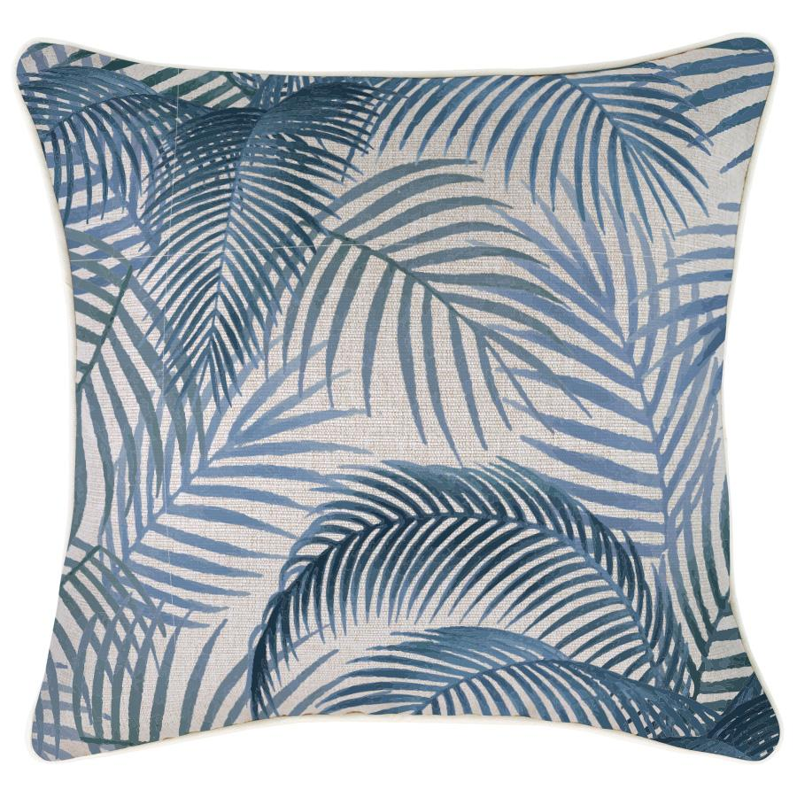 Cushion Cover-With Piping-Seminyak Blue-45cm x 45cm