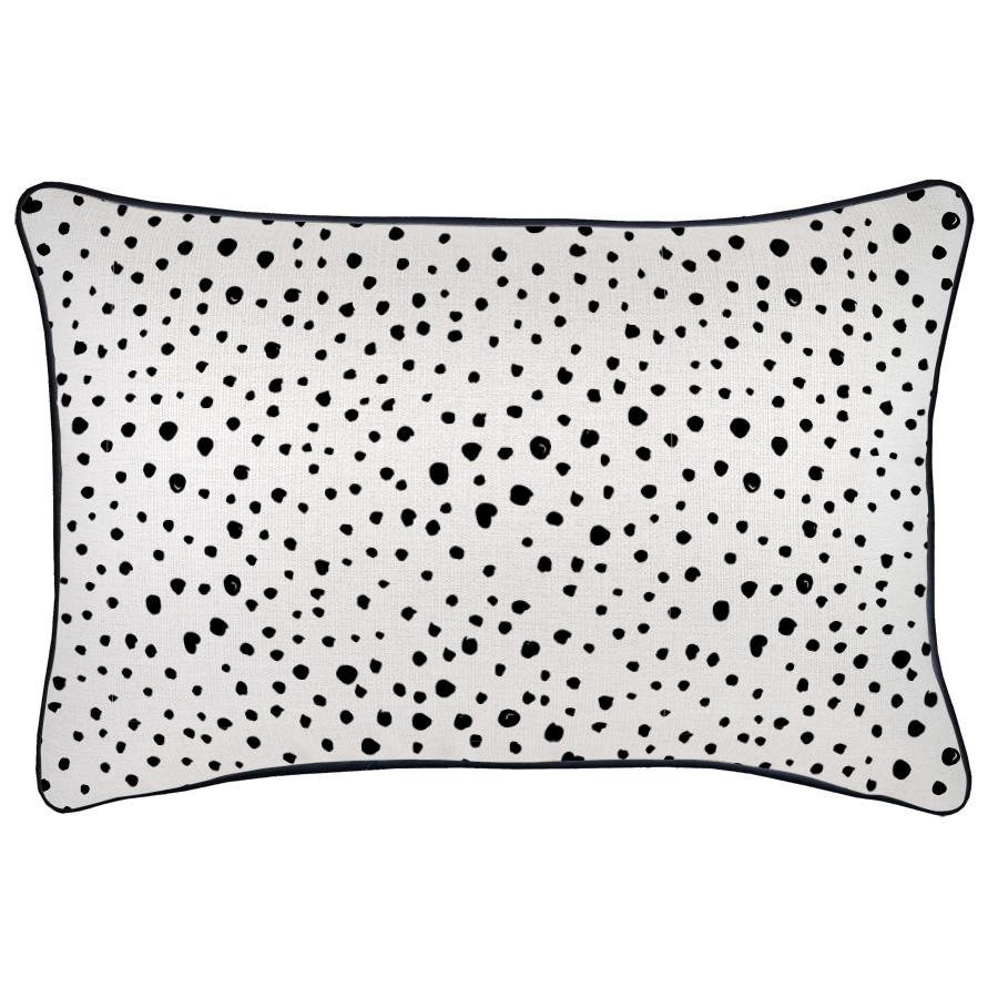 Cushion Cover-With Black Piping-Lunar-35cm x 50cm