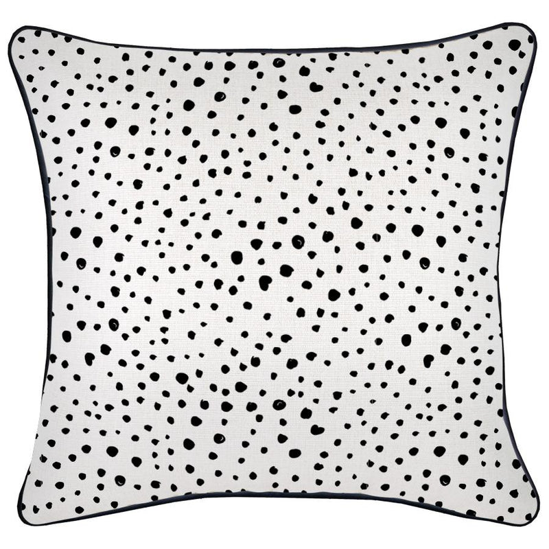 Cushion Cover-With Black Piping-Lunar-45cm x 45cm