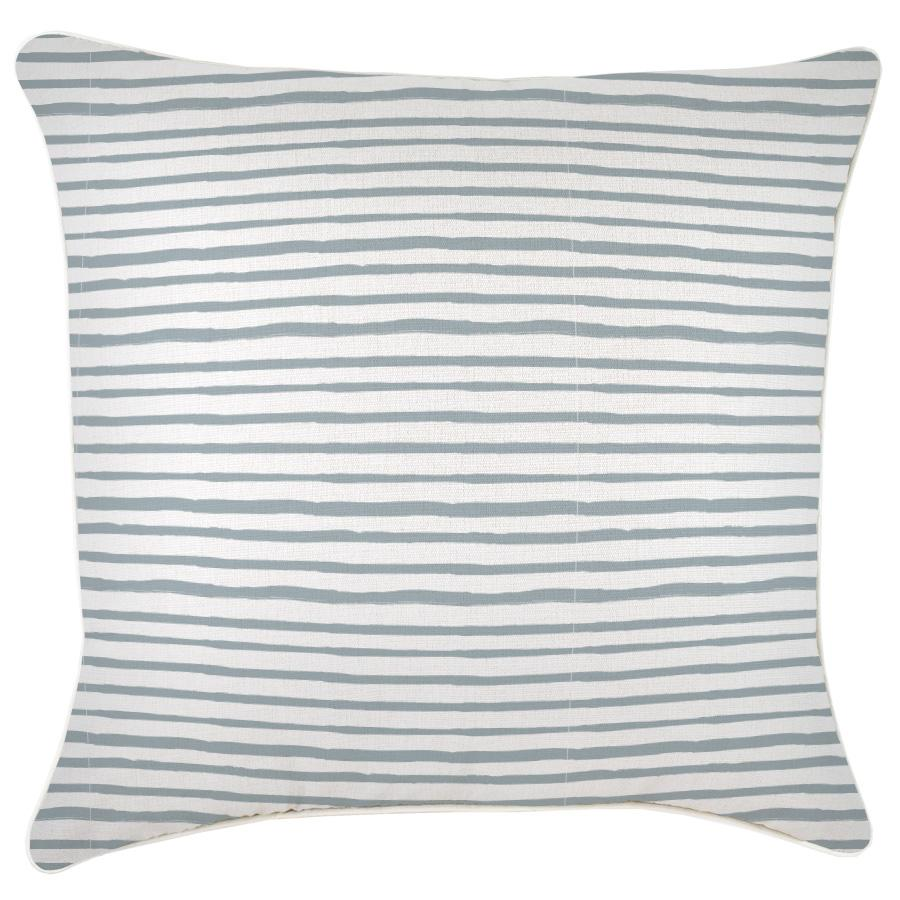 Cushion Cover-With Piping-Paint Stripes Smoke-60cm x 60cm