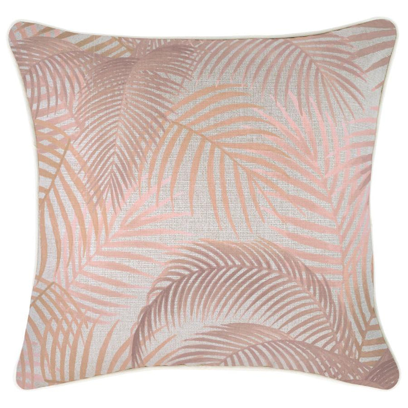 Cushion Cover-With Piping-Seminyak Blush-45cm x 45cm