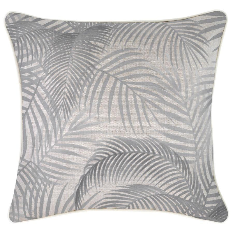Cushion Cover-With Piping-Seminyak Smoke-45cm x 45cm