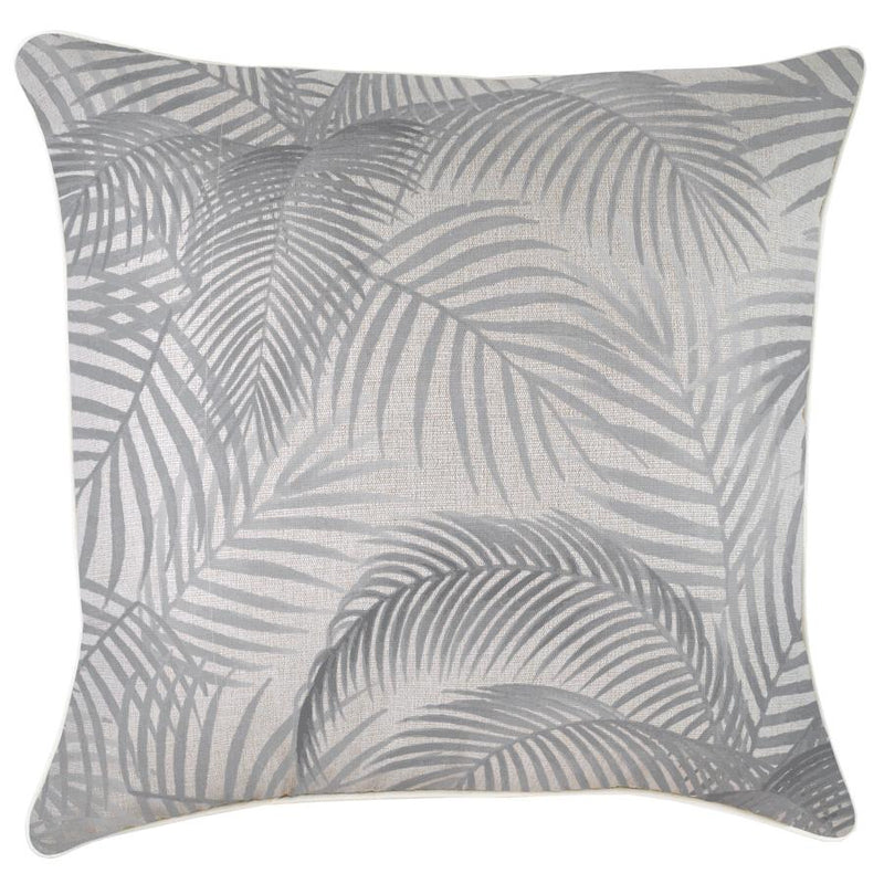 Cushion Cover-With Piping-Seminyak Smoke-60cm x 60cm