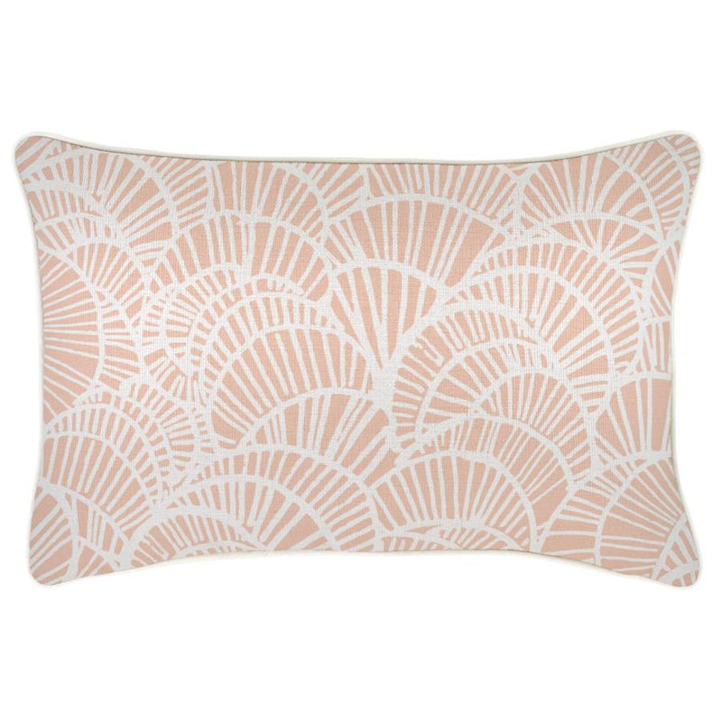 Cushion Cover-With Piping-Positano Blush-35cm x 50cm