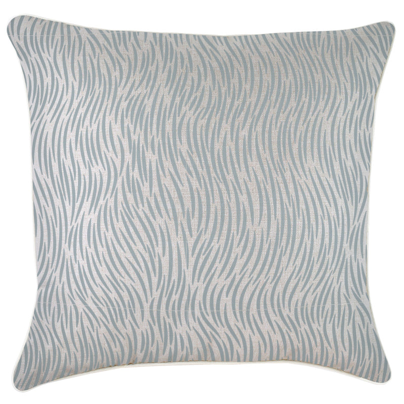 Cushion Cover-With Piping-Wild Smoke-60cm x 60cm