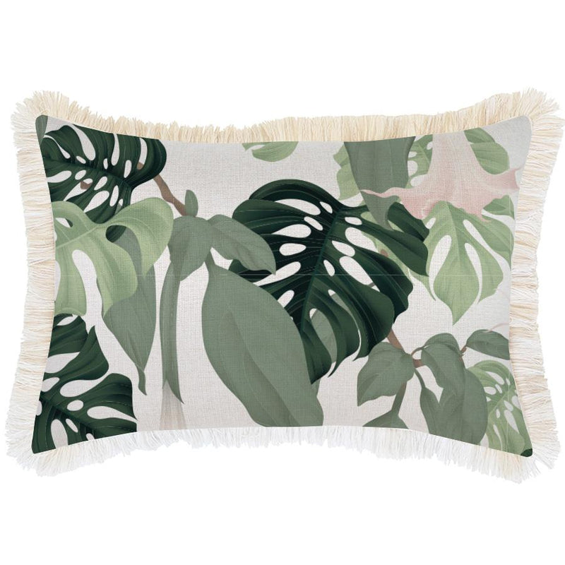 Cushion Cover-Coastal Fringe-Hanoi-35cm x 50cm