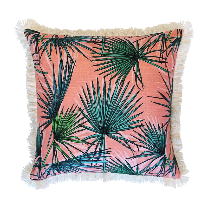 Cushion Cover-Coastal Fringe-Hot Tropics-45cm x 45cm