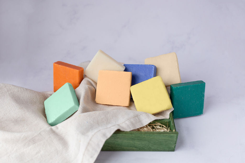 CONCENTR8ED eco bars plastic-free, palm oil-free, toxic chemical-free, low tox living, natural beauty, natural cleaning