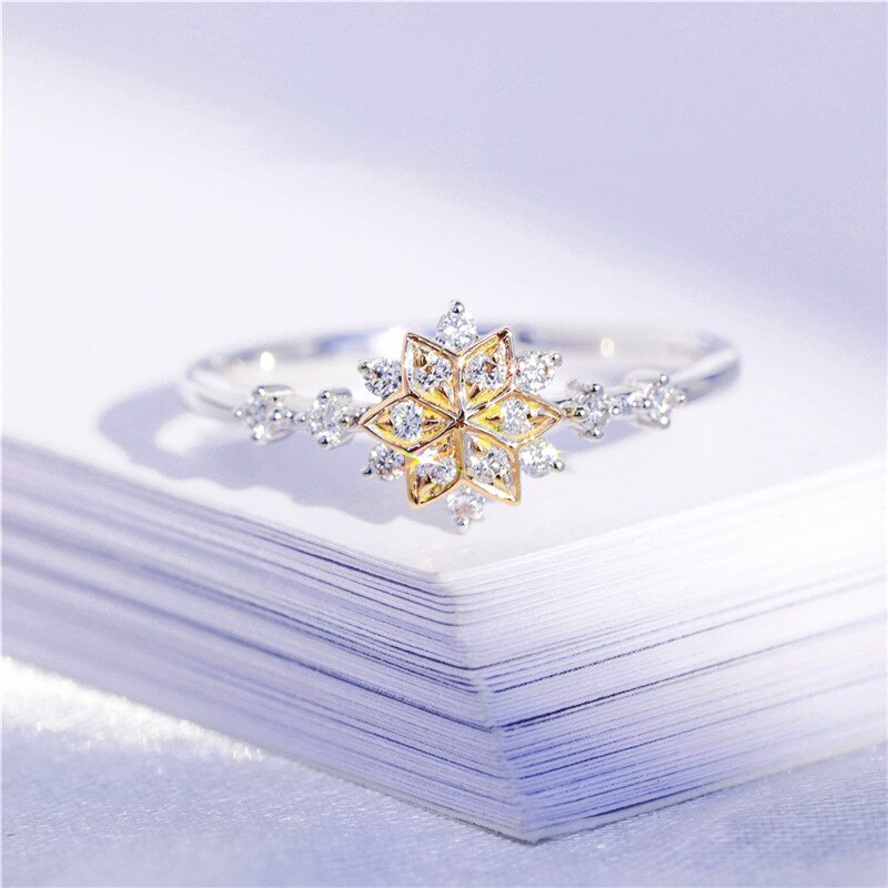 My Snowflake Ring by VIVSIX