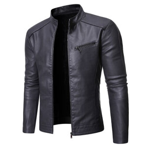 The Alpha Leather Jacket