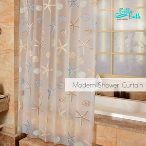 Quality Home Shower Curtain (Relaxing Sea)