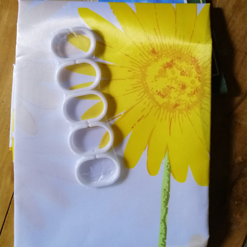 Quality Home Shower Curtain (Sunflower)