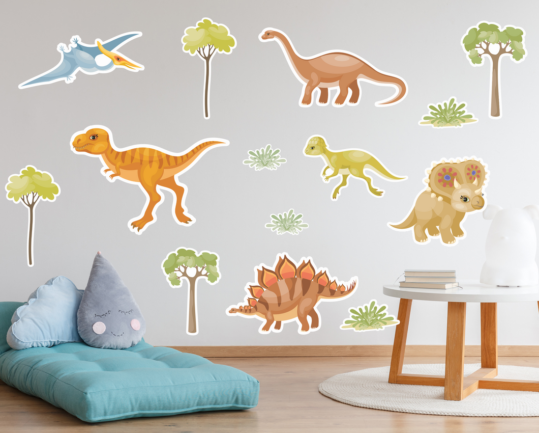 Dinosaur Wall Decals - Large-Wall Decals-AnaJosie Designs