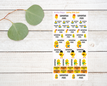 Load image into Gallery viewer, Name Labels - Quirky Little Ducks-Name Label Stickers-AnaJosie Designs