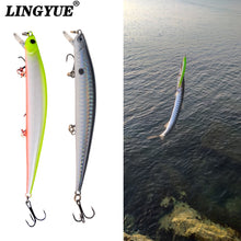 Load image into Gallery viewer, Minnow Style Hard Crankbait Rattling Wobbler For Pike