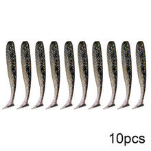 Load image into Gallery viewer, 10pcs Soft Lures Silicone Bait