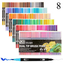 Load image into Gallery viewer, FineLiner Dual Tip Marker Pens 12/48/72/100/120