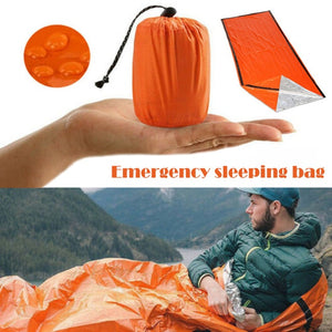 Bivy Emergency Thermal Sleeping Bag FREE SHIPPING