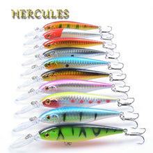 Load image into Gallery viewer, Hercules 10PCS Minnow Fishing Lures