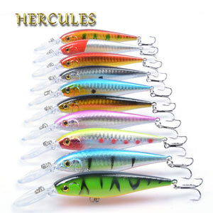 Hercules 10PCS Minnow Fishing Lures