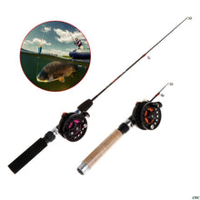 Load image into Gallery viewer, Ice Fishing Rod With Reel