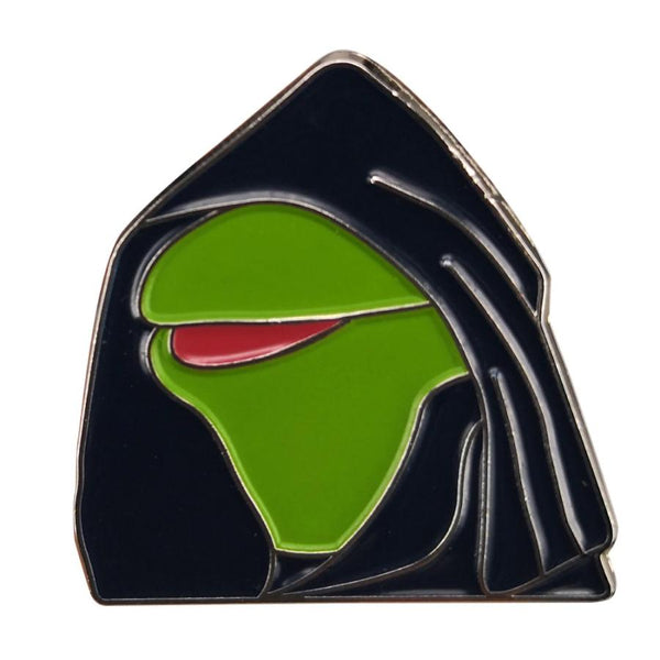 Evil Kermit Twin Meme Handcrafted Enamel Pin - Over Enameled