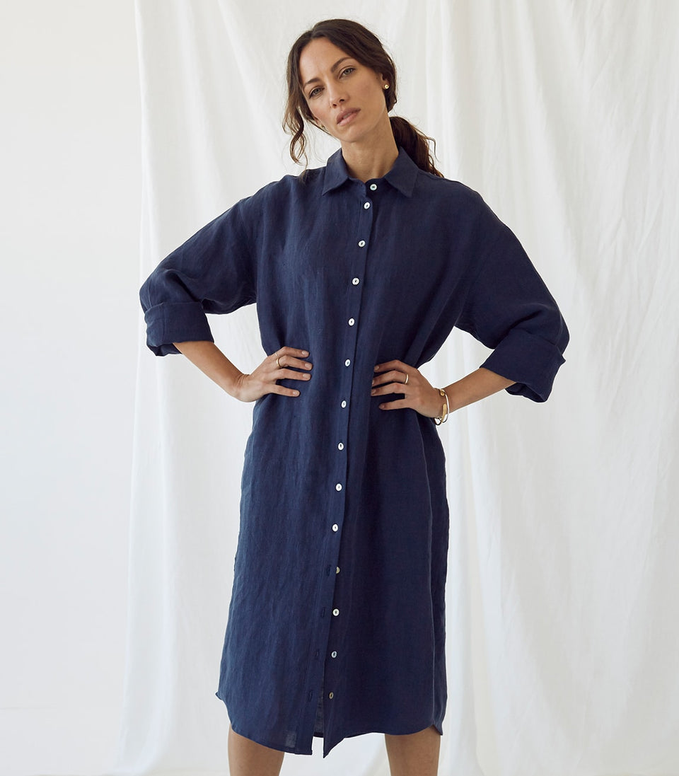 Eden Shirt Dress