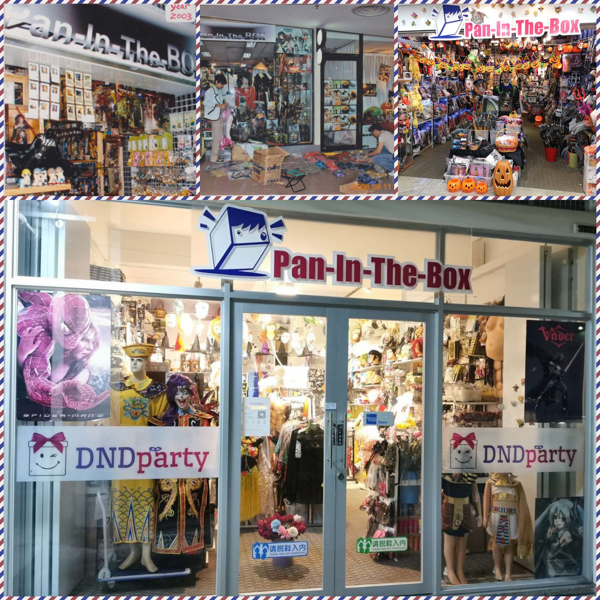 Pan-In-The-Box - Costume Rentals Singapore