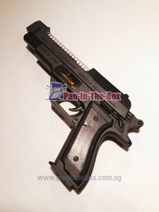 Plastic Toy Gun w/LED light