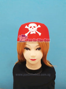 Pirate Bandana Hat (Red)