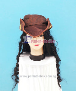 Pirate Hat With Wig