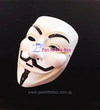 Load image into Gallery viewer, V for Vendetta Mask (White)