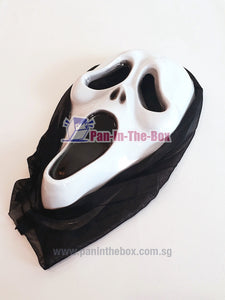 Screaming Ghost Mask