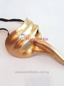 Plague Doctor Mask (Gold)