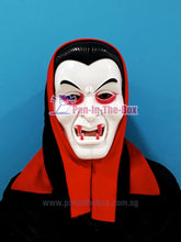 Load image into Gallery viewer, Dracula Mask w/Full Head Cover