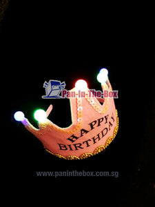 Happy Birthday Headwear w/LED light